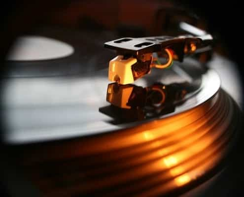 Hochzeits DJ Salzburg Turntable
