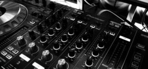 Hochzeits DJ Turntable sw