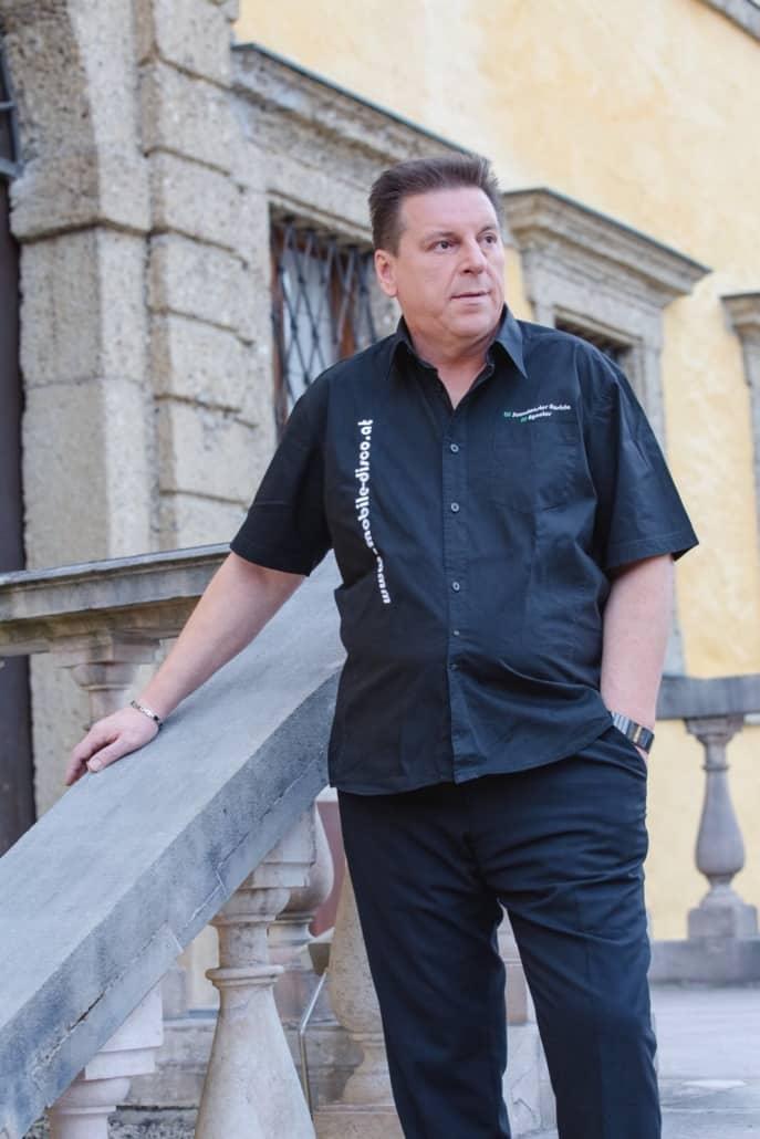 Hochzeits DJ Karlheinz Rausch Portrait