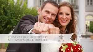 Edle Hochzeitsparty mobile-disco.at