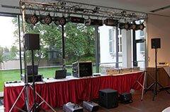 DJ Anlage Hochzeit
